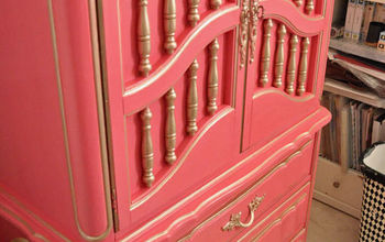Dixie French Craft Armoire Makeover