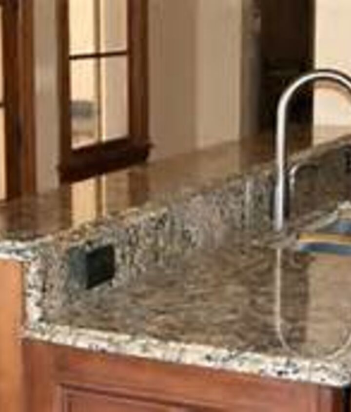 re doing counter tops to look like granite cheaply with no paint, countertops, painting