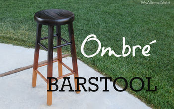 Refinished Ombré Barstool | My Altered State