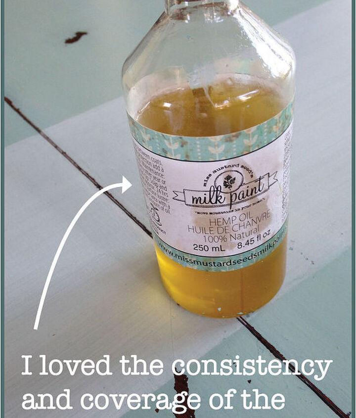 The hemp oil was my favorite part!