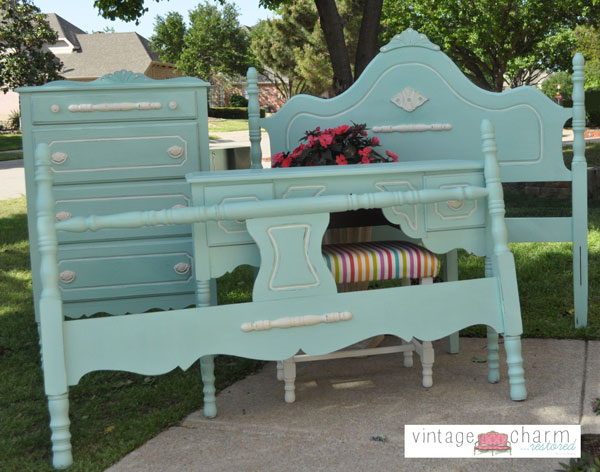 painted antique bedroom family, bedroom ideas, home decor, painted furniture,  repurposing upcycling - Painted Antique Bedroom Furniture Hometalk