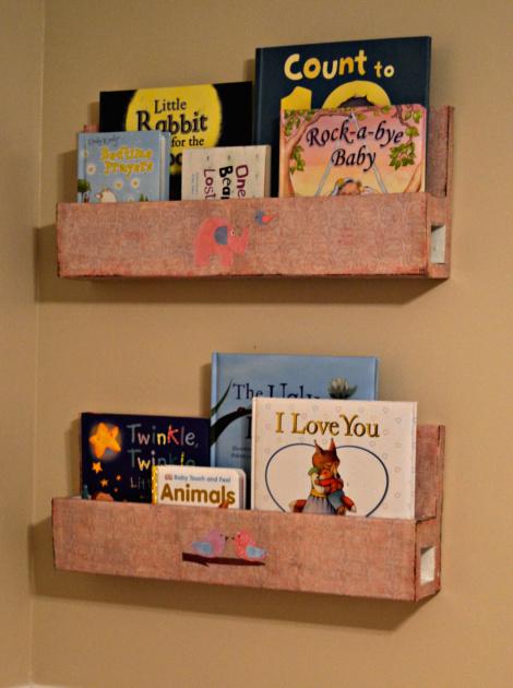 Wall Mount Bookshelf Diy Tutorial Home Decor How To Storage Ideas