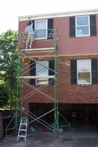 Scaffolding For House Painting Architectural Designs
