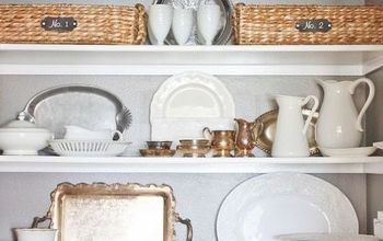 Gray and White Pantry Makeover