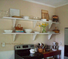 diy open shelves, diy, shelving ideas, storage ideas, woodworking projects, Perfect space for open shelves