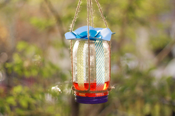 make a diy butterfly feeder in 6 easy steps, crafts, mason jars, That s it Now you can hang your feeder outside It will work best if it s placed about six inches higher than your tallest flowers