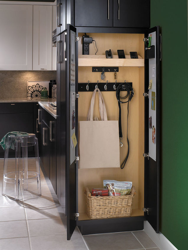 creative uses for a tall cabinet pantry not for just food anymore all cabinetry, home decor, kitchen cabinets