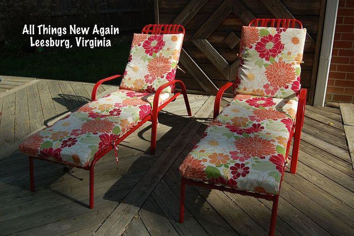 five star backyard seating on a no tell motel budget, outdoor furniture, painted furniture
