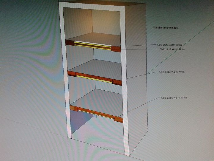 lighting questions on interior cabinets, lighting