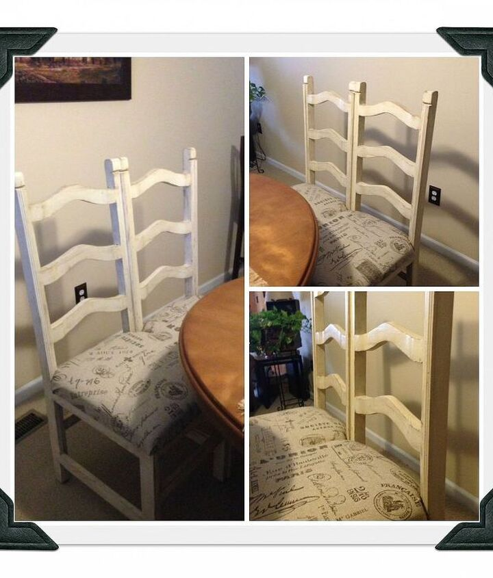 Finished DIY Chair Bench