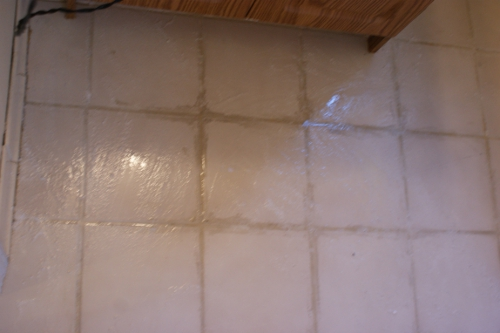 Removing DriedOn Grout And Refreshing Grout Lines Hometalk - Dried grout remover