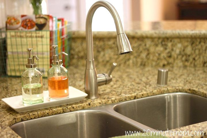 new sink and faucet added