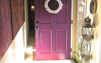 "Getting ""Playful"" With Modern Masters Front Door Paint"
