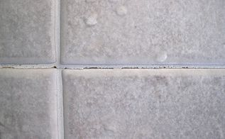 q how do i repair cracked grout on shower walls, bathroom ideas, home maintenance repairs, how to, tiling