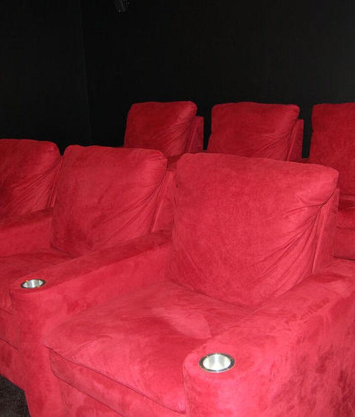 My AMC looking movie room