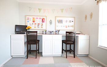 Craft Room DIY Desk Tutorial