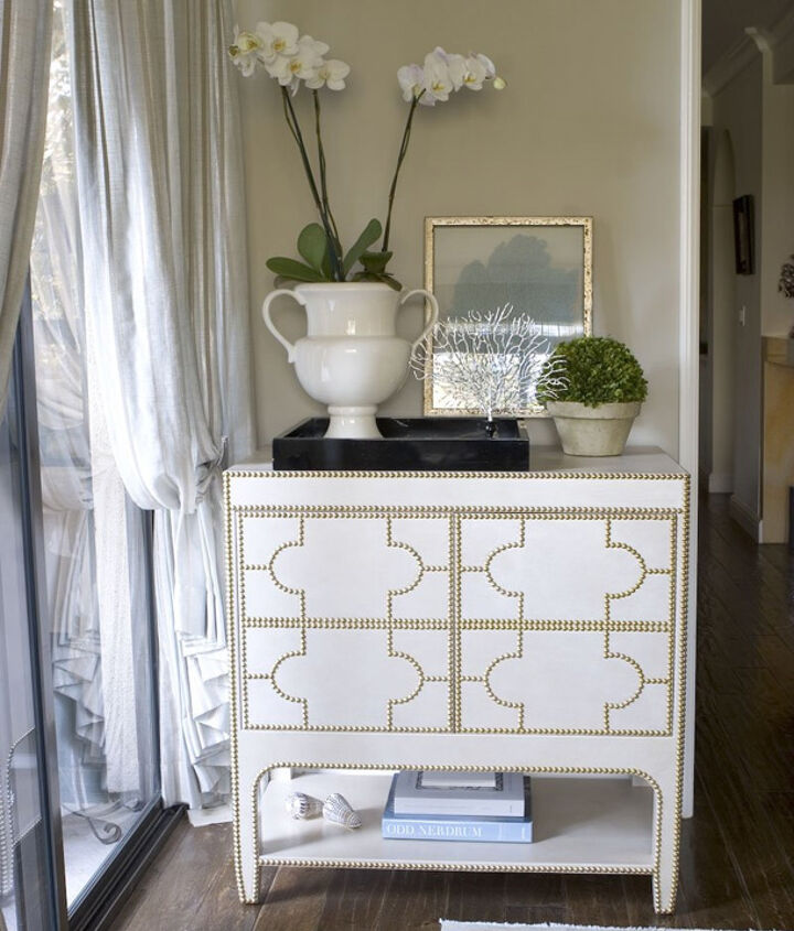 Nailhead trim is a great way to add some personality and style to your decor.