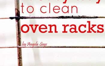 the easy way to clean your oven racks, appliances, cleaning tips