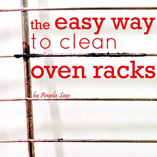 The Easy Way To Clean Your Oven Racks Appliances Cleaning Tips