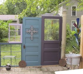 the fence recycling old doors and windows fences repurposing upcycling 1st section & The Fence (recycling Old Doors and Windows) | Hometalk pezcame.com