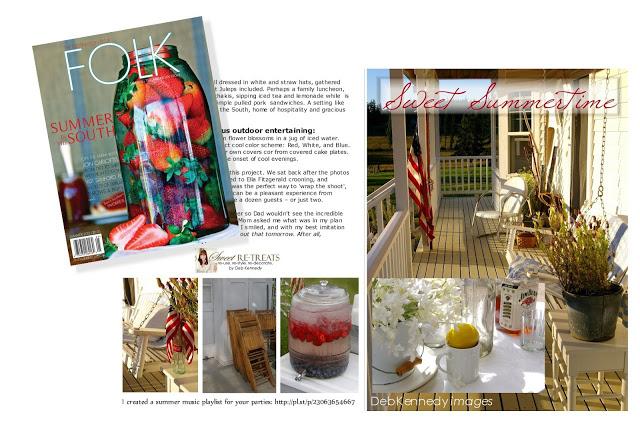 My front porch in FOLK Magazine Issue V Summer, 2012