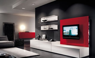 bold living rooms, home decor, living room ideas, wall decor