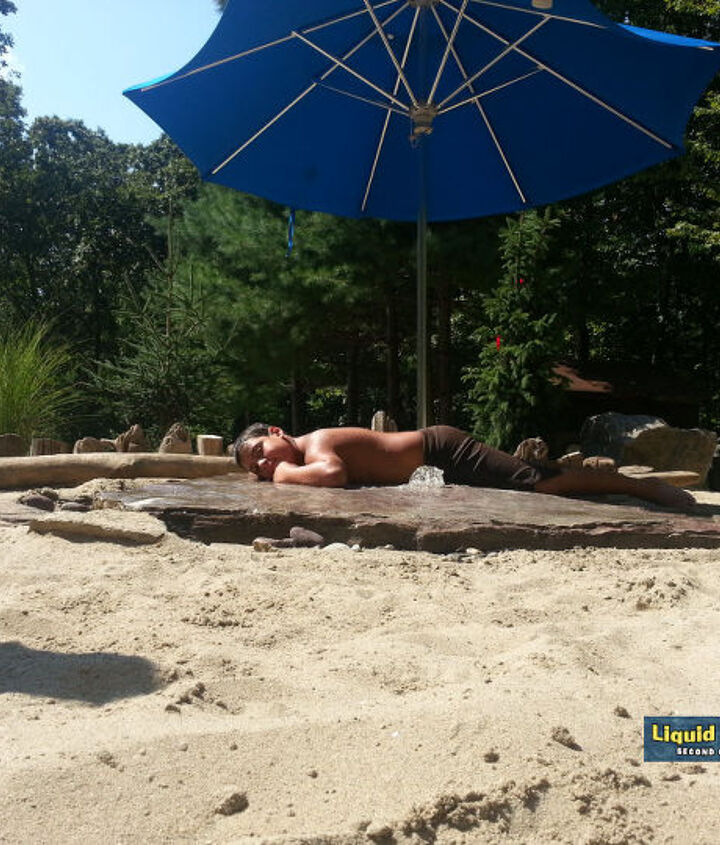 The ultimate spot for the dedicated sunbather.