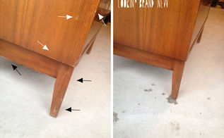 easy way to remove those scratches, cleaning tips, painted furniture