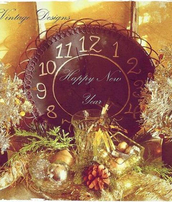 diy decor for new years, crafts, seasonal holiday decor