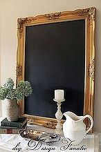 how to transform a mirror into a framed chalkboard, chalkboard paint, crafts, home decor
