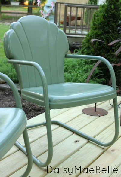 Very Best How To Paint Vintage Metal Chairs Hometalk Ls01