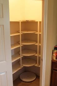 Use a lazy Susan to make the most of your pantry corners