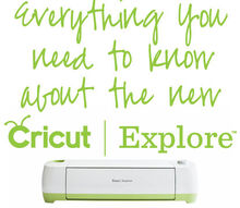 everything you need to know about the new cricut explore, crafts