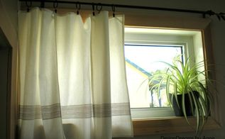 curtains amp shams in 5 minutes for 6, bedroom ideas, reupholster, window treatments