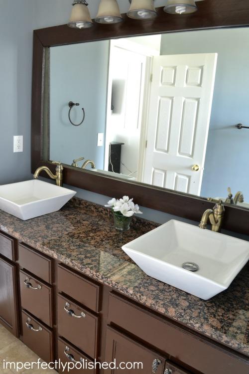 DIY Master Bathroom Makeover | Hometalk