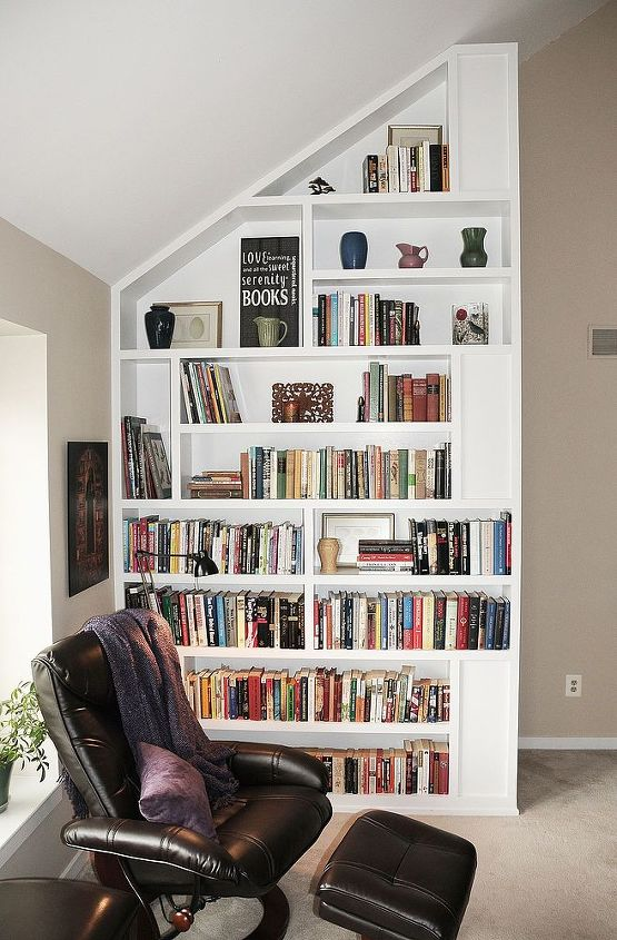 Custom bookcase.