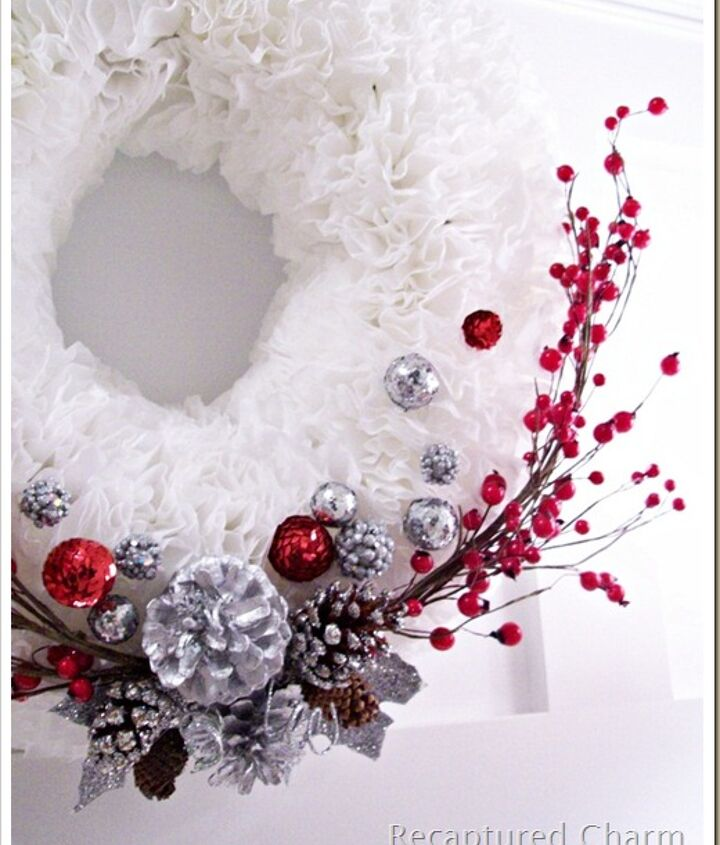 Takes a couple of hours  http://www.recapturedcharm.com/2011/12/coffee-filter-christmas-wreath.html