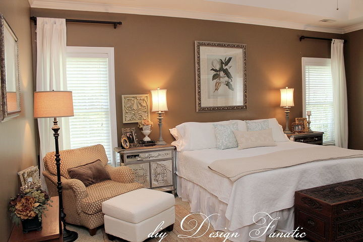 decorating a master bedroom on a budget, bedroom ideas, home decor