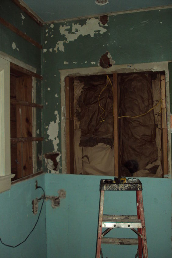 Drywall replacement.