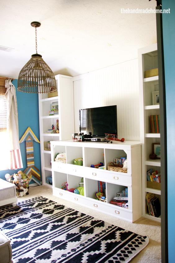 playroom redo, entertainment rec rooms, home decor, storage ideas, Playroom redo