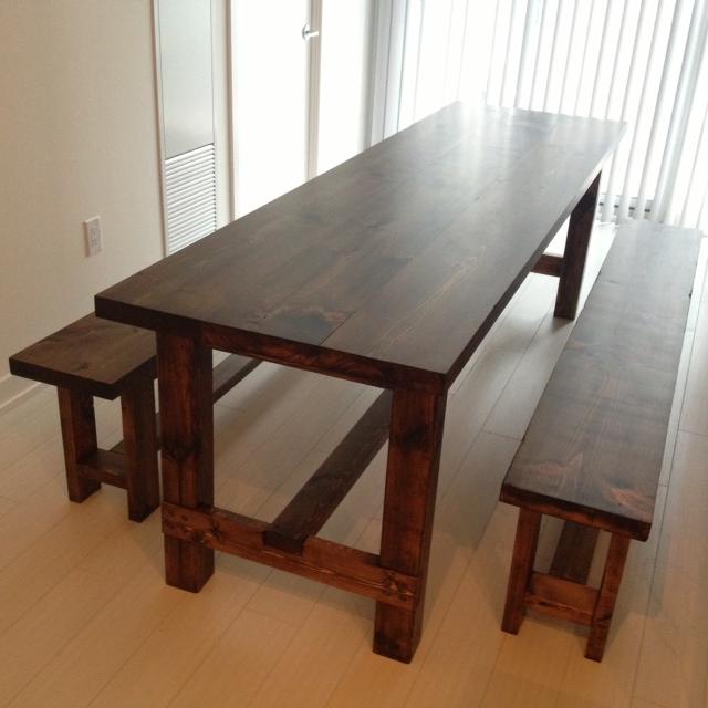 Diy Farmhouse Table Bench Home Decor How To Living Room Ideas