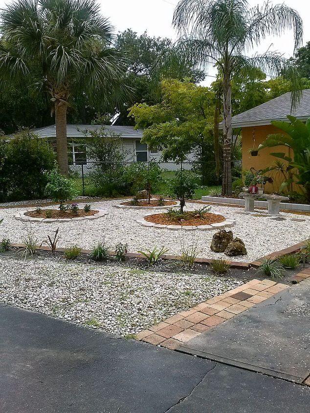 front yard makeover, gardening, landscape