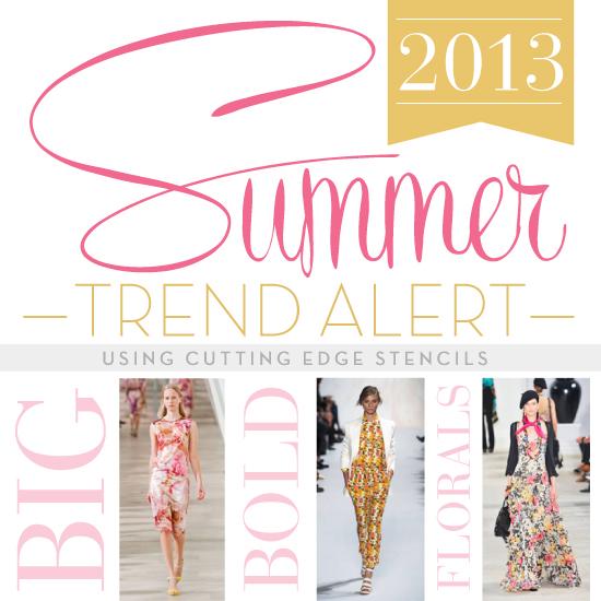 summer trend alert big bold florals, home decor, painting