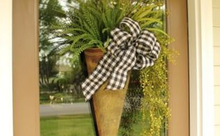 a step by step guide to making an arrangement for your front door, crafts, wreaths, And are ready to hang it on your front door