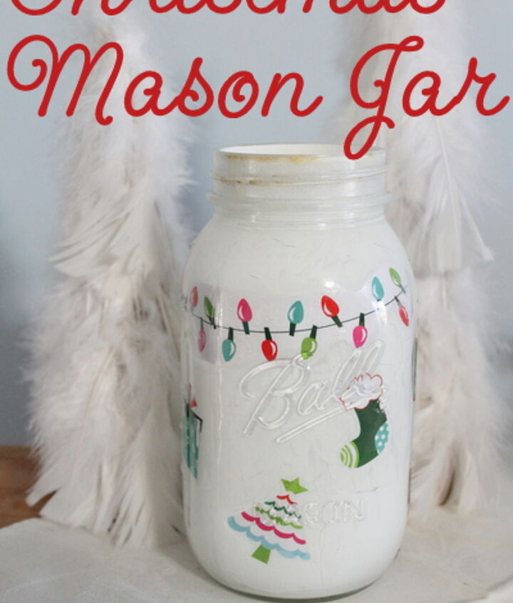 Any paper or fabric would work to create a themed jar for you home.  http://www.thecountrychiccottage.net/2012/11/christmas-mason-jar.html