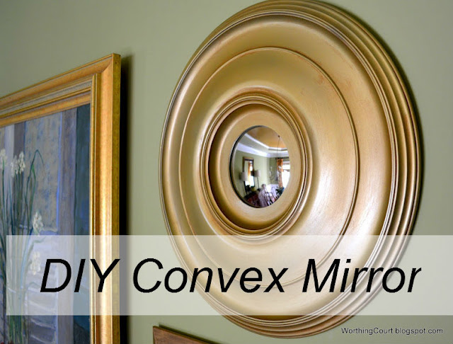 Diy Convex Mirror Home Decor How To