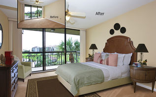 virtual staging before after photo of the week a friday double, bedroom ideas, home decor, living room ideas, real estate, Jupiter FL Photo courtesy of Virtually Staging Properties