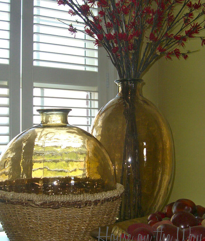 decorating with baskets, home decor