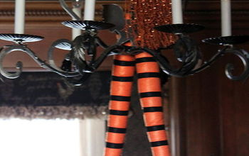 the witch is in, halloween decorations, seasonal holiday d cor, The Witch is in entertaining for Halloween