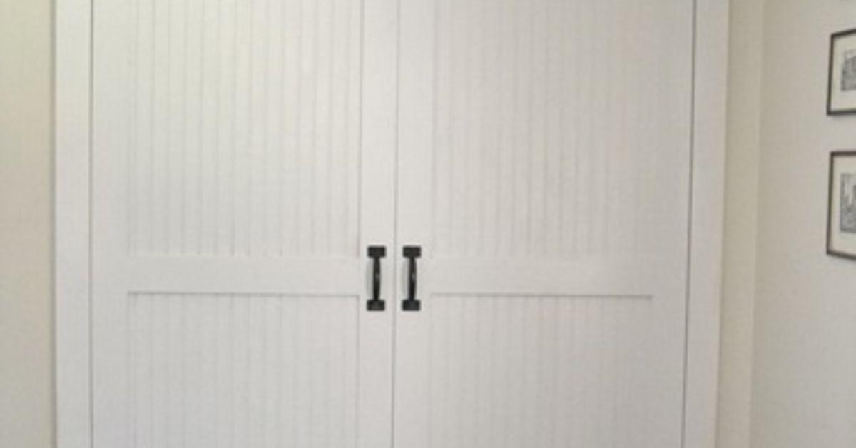 Diy Cottage Closet Door Makeover Hometalk